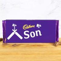 Cadbury Bar 360g - Cricket Bat - Son - Son Gifts