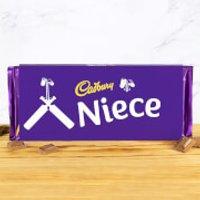 Cadbury Bar 360g - Cricket Bat - Niece - Niece Gifts