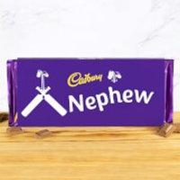 Cadbury Bar 360g - Cricket Bat - Nephew - Nephew Gifts