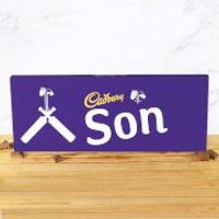 Cadbury Bar 850g - Cricket Bat - Son - Son Gifts