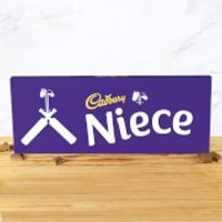 Cadbury Bar 850g - Cricket Bat - Niece - Niece Gifts