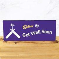 Cadbury Bar 850g - Cricket Bat - Get Well Soon - Cricket Gifts