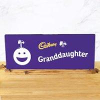 Cadbury Bar 850g - Smiley - Granddaughter - Smiley Gifts