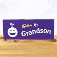 Cadbury Bar 850g - Smiley - Grandson - Smiley Gifts