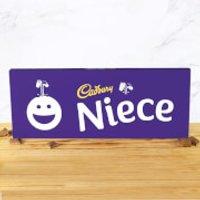 Cadbury Bar 850g - Smiley - Niece - Smiley Gifts