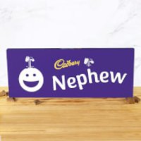 Cadbury Bar 850g - Smiley - Nephew - Nephew Gifts