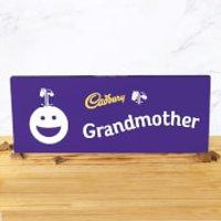 Cadbury Bar 850g - Smiley - Grandmother - Smiley Gifts