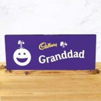 Cadbury Bar 850g - Smiley - Granddad - Smiley Gifts