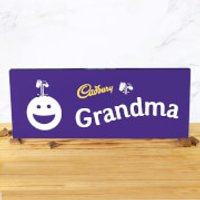 Cadbury Bar 850g - Smiley - Grandma - Smiley Gifts