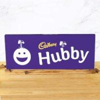 Cadbury Bar 850g - Smiley - Hubby - Smiley Gifts