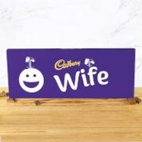 Cadbury Bar 850g - Smiley - Wife - Smiley Gifts