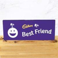 Cadbury Bar 850g - Smiley - Best Friend - Smiley Gifts