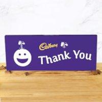 Cadbury Bar 850g - Smiley - Thank You - Smiley Gifts