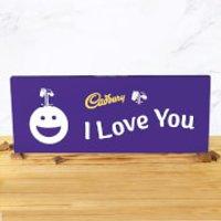Cadbury Bar 850g - Smiley - I Love You - Smiley Gifts