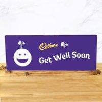 Cadbury Bar 850g - Smiley - Get Well Soon - Smiley Gifts