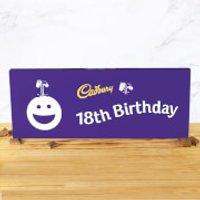 Cadbury Bar 850g - Smiley - 18th Birthday - Smiley Gifts