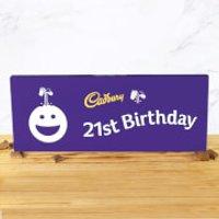 Cadbury Bar 850g - Smiley - 21st Birthday - Smiley Gifts