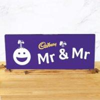 Cadbury Bar 850g - Smiley - Mr & Mr - Smiley Gifts