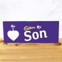 Cadbury Bar 850g - Heart - Son - Son Gifts