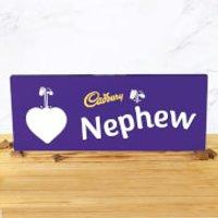Cadbury Bar 850g - Heart - Nephew - Nephew Gifts