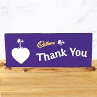 Cadbury Bar 850g - Heart - Thank You