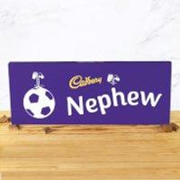 Cadbury Bar 850g - Football - Nephew - Nephew Gifts