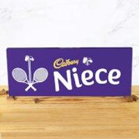 Cadbury Bar 850g - Tennis Racket - Niece - Niece Gifts