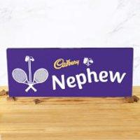 Cadbury Bar 850g - Tennis Racket - Nephew - Nephew Gifts