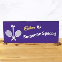 Cadbury Bar 850g - Tennis Racket - Someone Special - Special Gifts