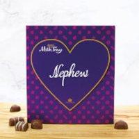 Cadbury Milk Tray - Heart - Nephew - Nephew Gifts