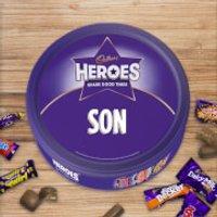 Cadbury Heroes Tin - Son - Son Gifts