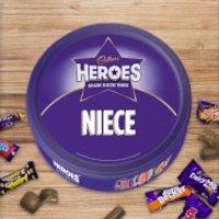 Cadbury Heroes Tin - Niece - Niece Gifts
