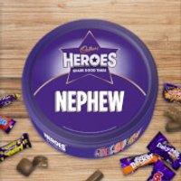 Cadbury Heroes Tin - Nephew - Nephew Gifts