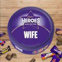 Cadbury Heroes Tin - Wife - Cadbury Gifts