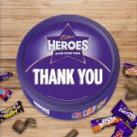Cadbury Heroes Tin - Thank You - Cadbury Gifts