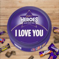 Cadbury Heroes Tin - I Love You - Cadbury Gifts
