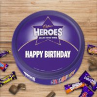 Cadbury Heroes Tin - Happy Birthday - Cadbury Gifts