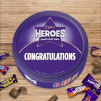 Cadbury Heroes Tin - Congratulations - Cadbury Gifts