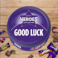 Cadbury Heroes Tin - Good Luck - Cadbury Gifts