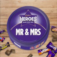Cadbury Heroes Tin - Mr & Mrs - Cadbury Gifts
