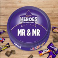 Cadbury Heroes Tin - Mr & Mr - Cadbury Gifts