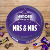 Cadbury Heroes Tin - Mrs & Mrs - Cadbury Gifts