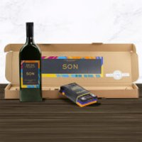 Green & Black's Wine and Chocolate Box - Son - Son Gifts