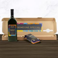 Green & Black's Wine And Chocolate Box - Someone Special