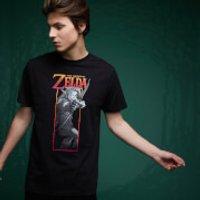 Legend Of Zelda Link Bow T-Shirt - Black - 4XL - Black