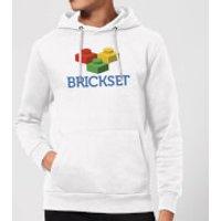 Brickset Logo Hoodie - White - XL - White