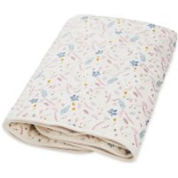 Cam Cam Baby Blanket - Pressed Leaves Rose
