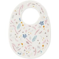 Cam Cam Classic Bib - Pressed Leaves Rose