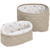 Cam Cam Quilted Storage Baskets - Hazel (Set of 2)