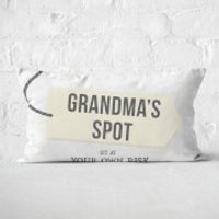 Grandma's Spot Rectangular Cushion - 30x50cm - Soft Touch